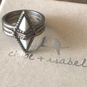 Chloe + Isabel Jewelry - Portico Nesting Ring Set